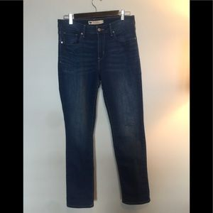Levi's stretch straight leg fit size 10.